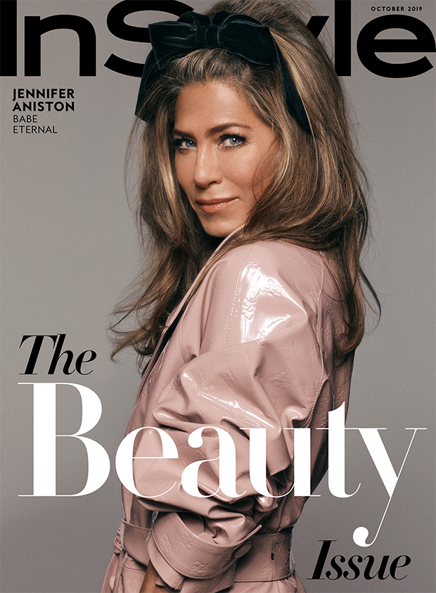Jennifer Aniston 'InStyle' cover Oct. 2019