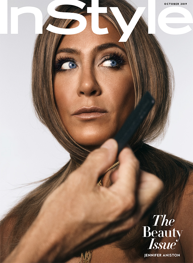 Jennifer Aniston covers 'InStyles' Oct. 2019 issue
