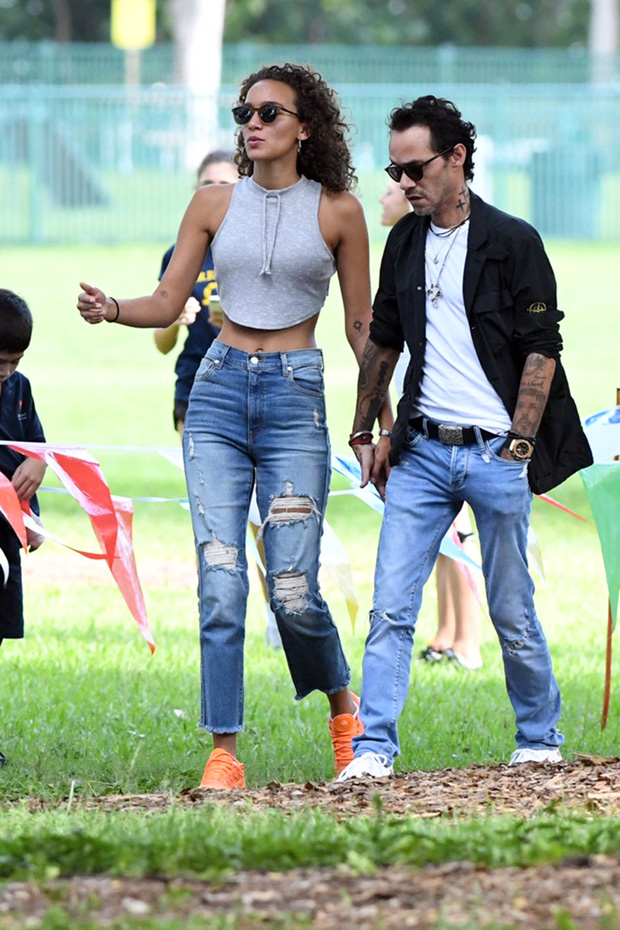 Marc Anthony, Marc Anthony's mystery girlfriend
