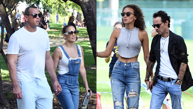 Alex Rodriguez, Jennifer Lopez, Marc Anthony's girlfriend, Marc Anthony