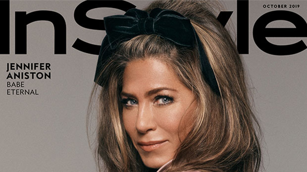 Jennifer Aniston covers 'InStyle's Oct. 2019 issue