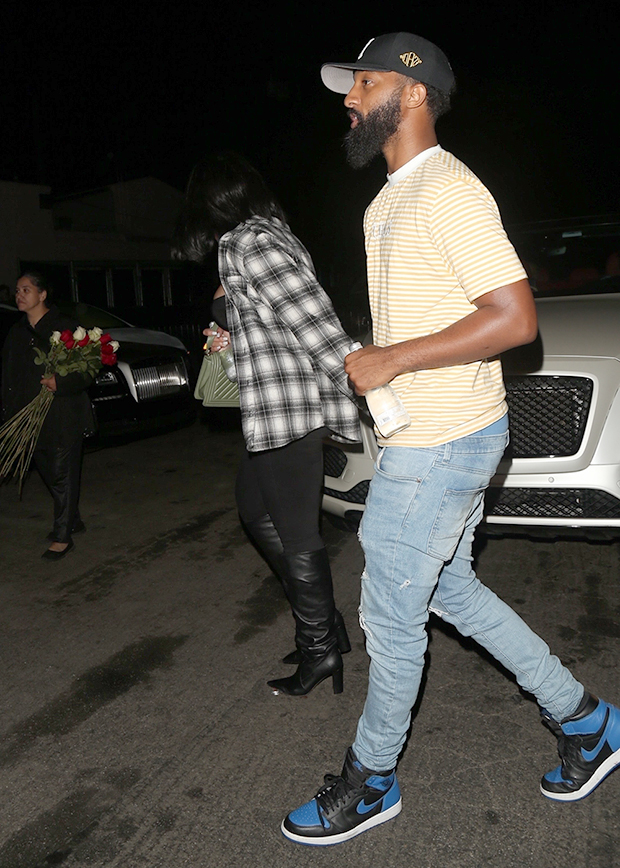 Jordyn Woods holding hands with mystery man
