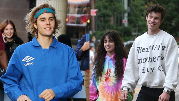 Justin Bieber, Camila Cabello, Shawn Mendes
