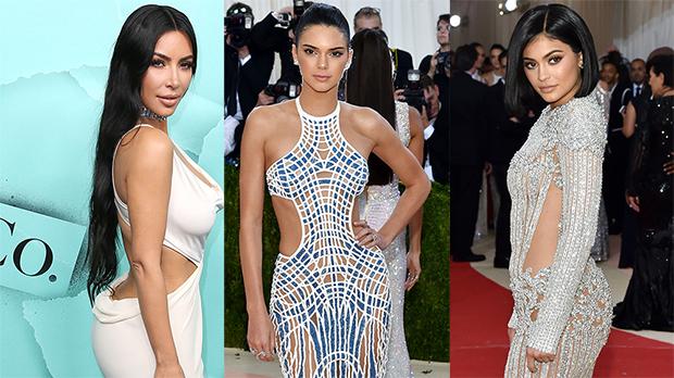 Kim Kardashian Kendally Jenner Kylie Jenner