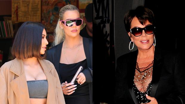 Kim Kardashian, Khloe Kardashian, Kris Jenner