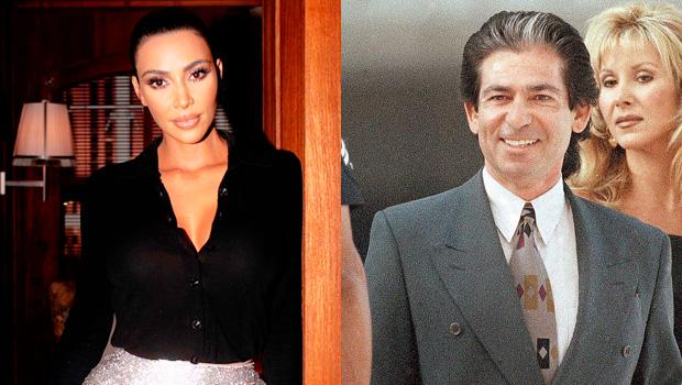 Kim and Robert Kardashian Sr.