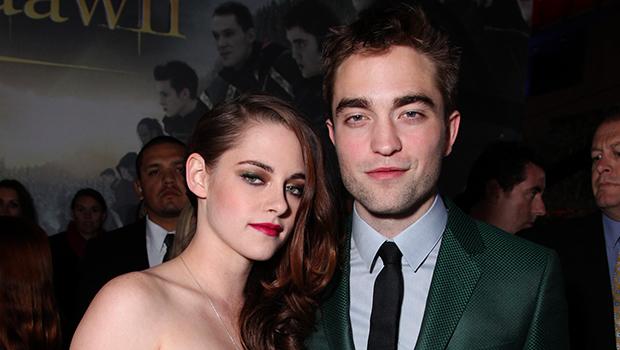 Kristen Stewart & Robert Pattinson on the red carpet