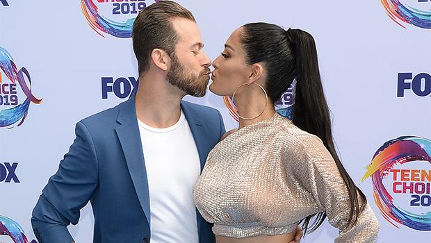 Nikki Bella & Artem Chigvintsev at Teen Choice Awards 2019