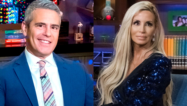 Andy Cohen & Camille Grammer