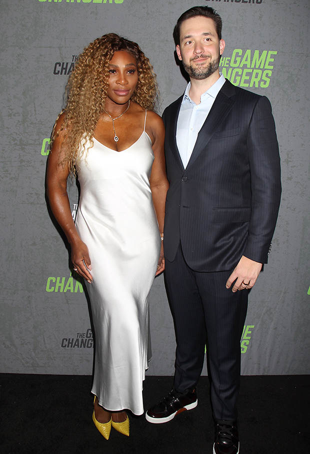Serena Williams & Alexis Ohanian at 'The Game Changers' premiere