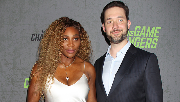 Serena Williams & Alexis Ohanian at the premiere of 'The Game Changers'