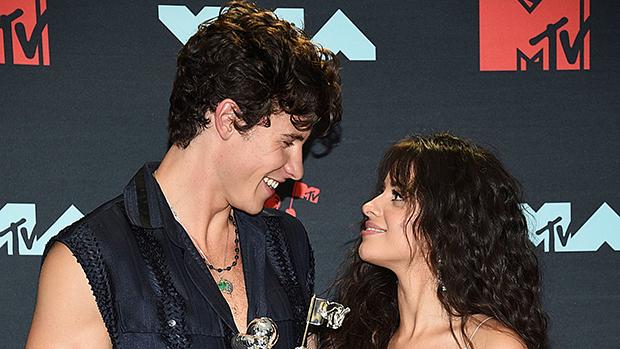 Shawn Mendes & Camila Cabello on the red carpet at MTV VMAs