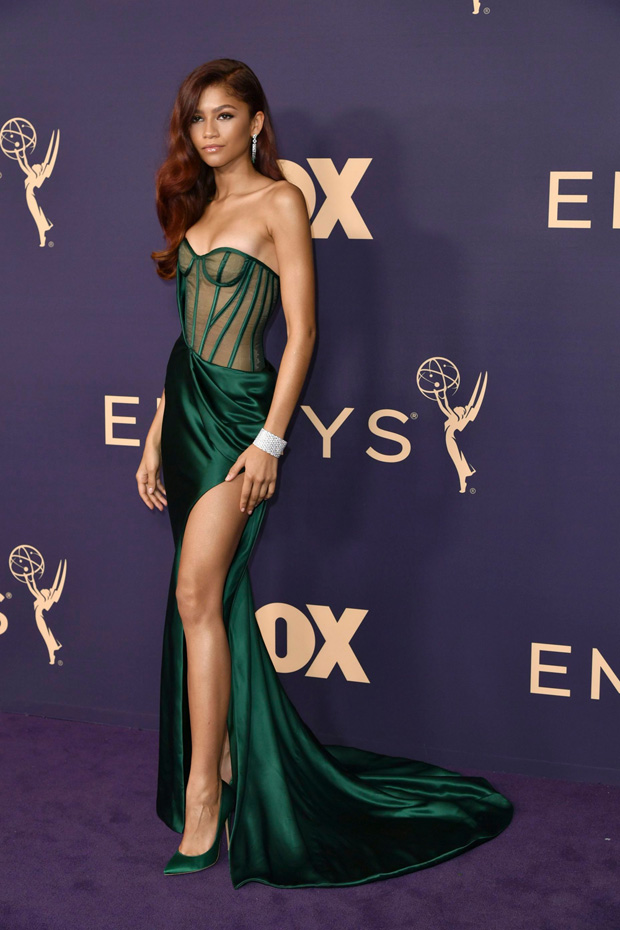 Zendaya arrives at the 71st Primetime Emmy Awards, at the Microsoft Theater in Los Angeles2019 Primetime Emmy Awards - Arrivals, Los Angeles, USA - 22 Sep 2019