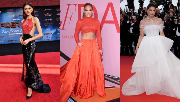 Zendaya, Jennifer Lopez & Priyanka Chopra