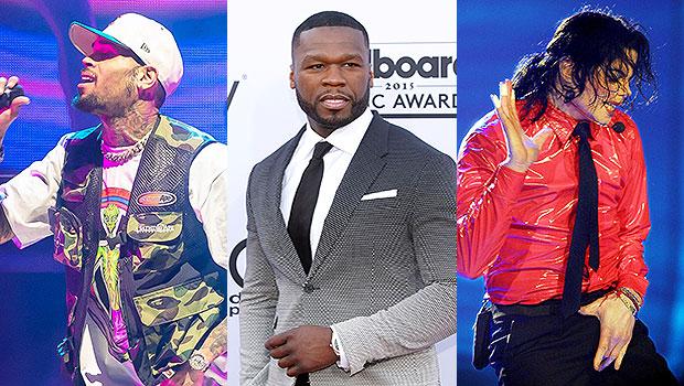 Chris Brown, 50 Cent, Michael Jackson