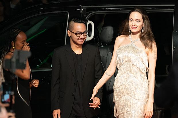 Maddox Jolie-Pitt. Angelina Jolie