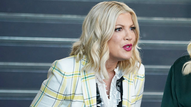tori spelling, bh90210 season 2 interview