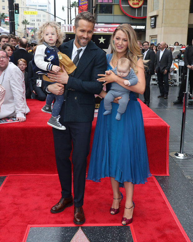 Blake Lively, Ryan Reynolds and their daughters