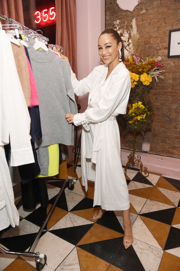 Cara Santana's Kohl's Launch Event in NYC