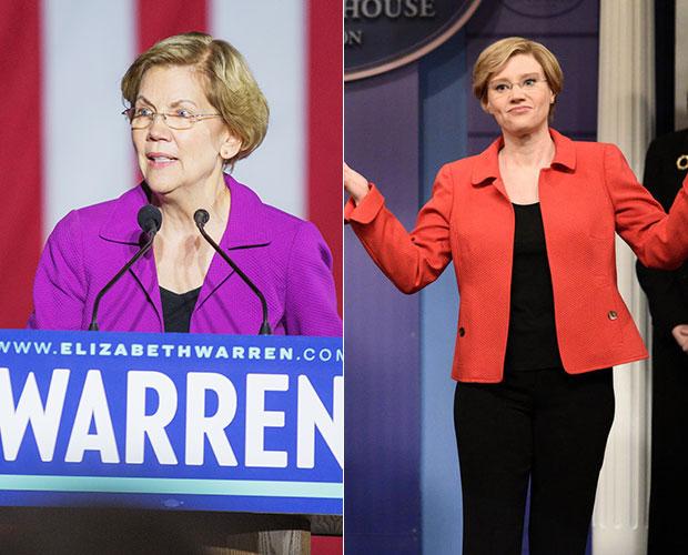 Kate McKinnon Elizabeth Warren
