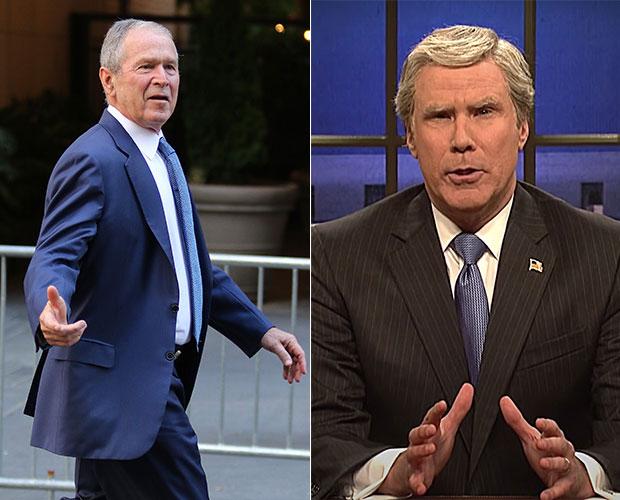 Will Ferrell George W Bush