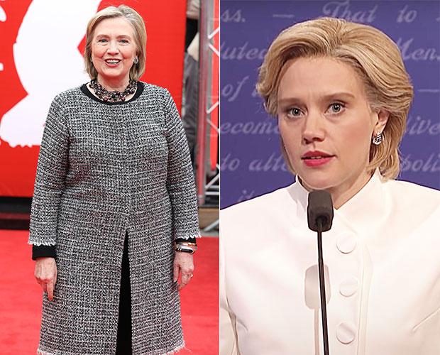 Kate McKinnon Hillary Clinton