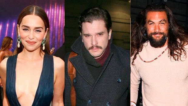 Emilia Clarke, Kit Harington, Jason Momoa