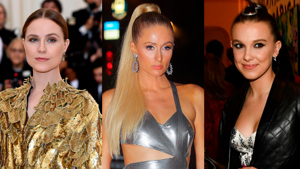 Evan Rachel Wood, Paris Hilton, Millie Bobby Brown