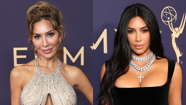 Farrah Abraham Kim Kardashian