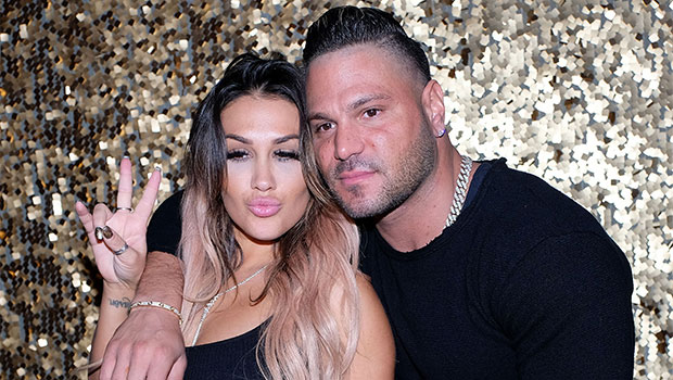 Jen Harley & Ronnie Ortiz-Magro on the red carpet