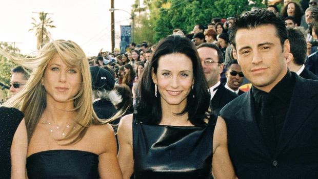 Jennifer Aniston, Courteney Cox, Matt LeBlanc