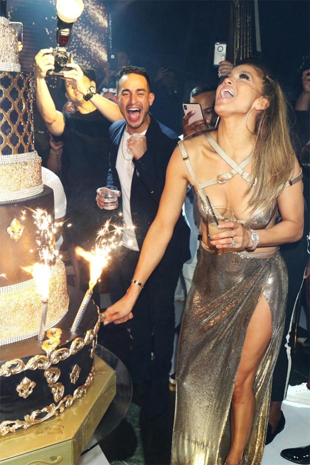 Jennifer Lopez's 50th birthday