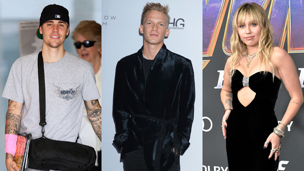 Justin Bieber, Cody Simpson, Miley Cyrus