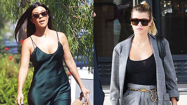 Kourtney Kardashian & Sofia Richie