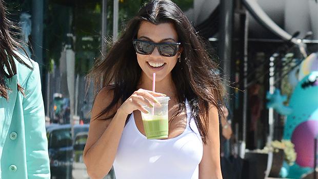 Kourtney Kardashian out & about