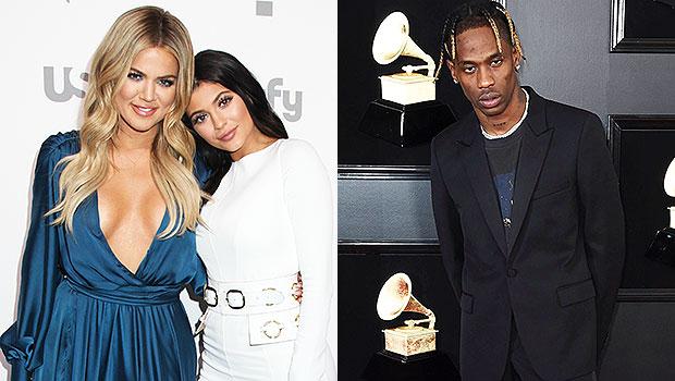Khloe Kardashian, Kylie Jenner, Travis Scott