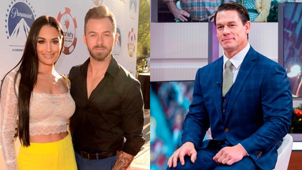 Nikki Bella, Artem Chigvintsev & John Cena