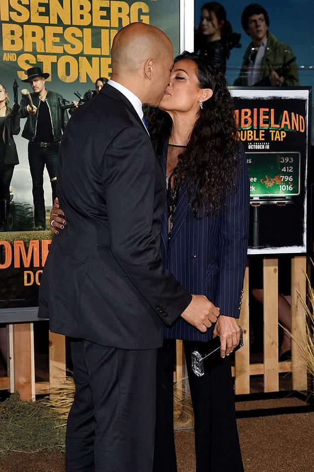 Cory Booker Rosario Dawson
