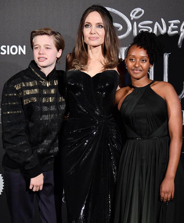 Shiloh-Jolie Pitt, Zahara Jolie-Pitt, Angelina Jolie