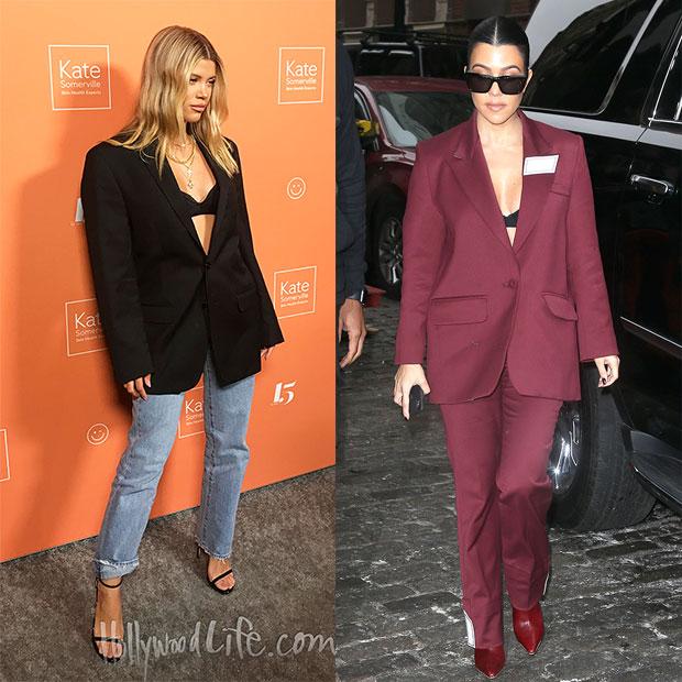 Sofia Richie and Kourtney Kardashian