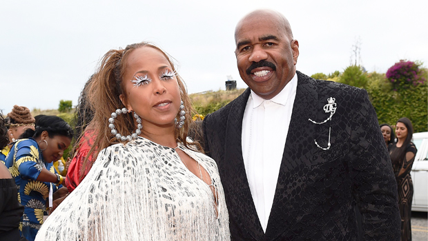 Steve Harvey S Wife Marjorie Harvey Shows Off Her Dance Moves Watch Hollywood Life