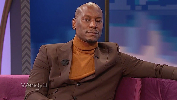 Tyrese Gibson on 'The Wendy Williams Show'