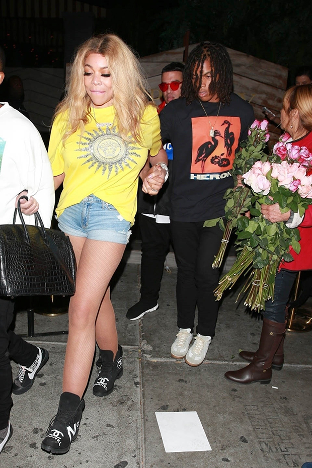 Wendy Williams at Poppy Nightclub in West Hollywood