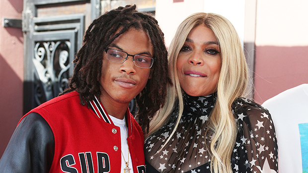 Wendy Williams & son Kevin Hunter Jr. at her Hollywood Walk of Fame ceremony