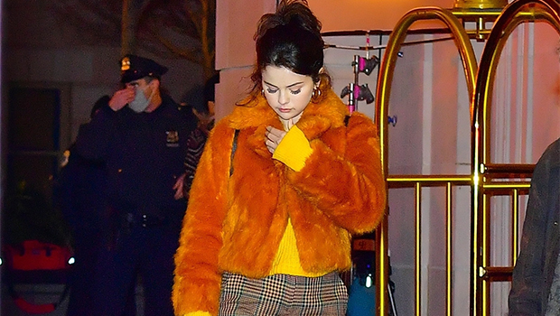 Teddy Coats: Selena Gomez, Kim Kardashian & 10 More Stars Bundled Up In The Cozy Jacket