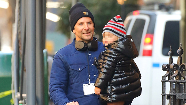 Bradley Cooper Daughter Lea NYC Walk Pic