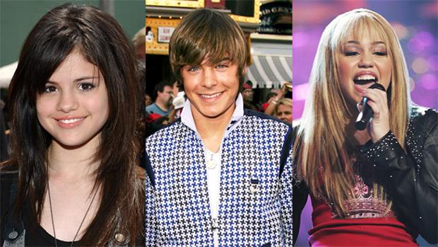 Selena Gomez Zac Efron Miley Cyrus