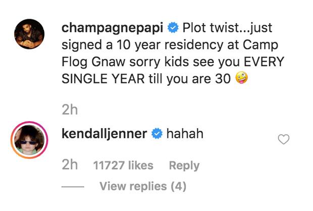 Drake, Kendall Jenner