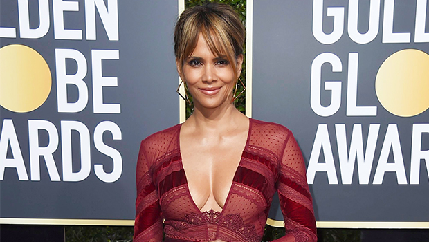 Halle Berry Abs Stomach Workout Gym Pic