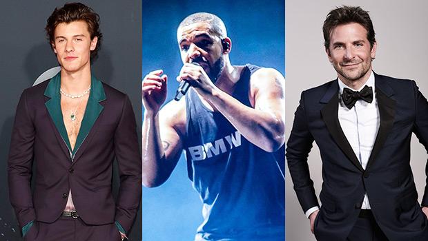 Shawn Mendes, Drake & Bradley Cooper